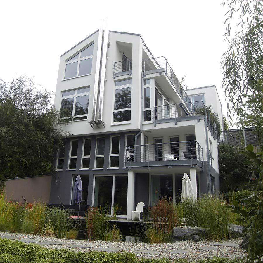 Neubau eines Eigenheims