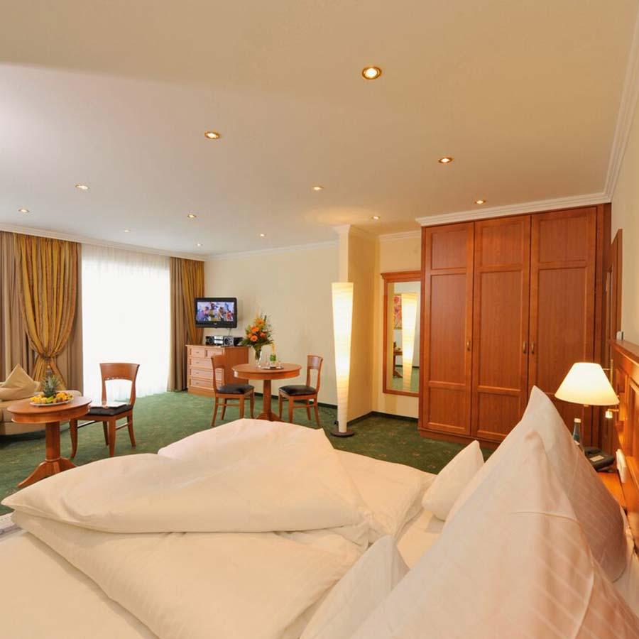 Neugestaltung von Hotelzimmern