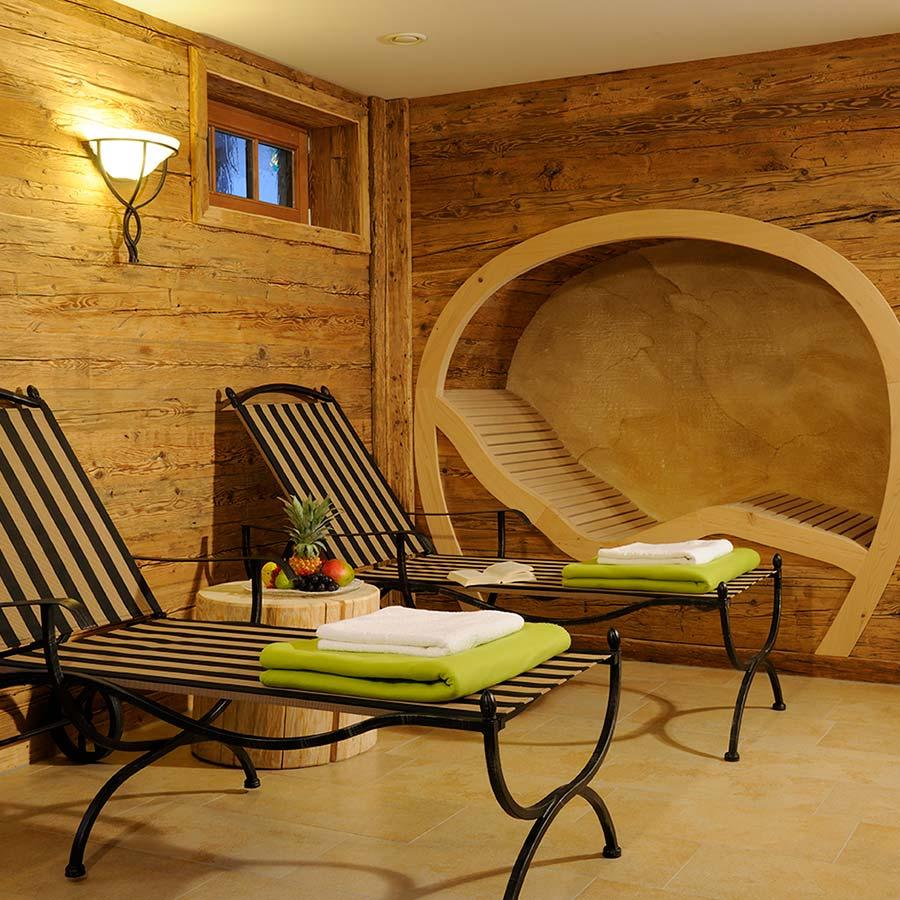 Neugestaltung eines Saunabereichs